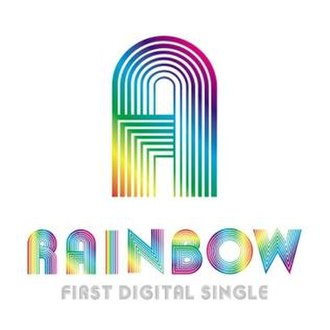 A (Rainbow song) - Image: A korean