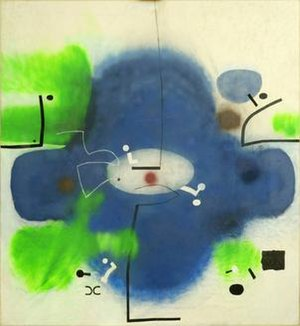 Abstract painting (Pasmore) - Image: Abstract Victor Pasmore
