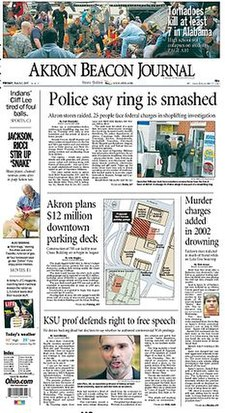 Akron Beacon Journal front page.jpg