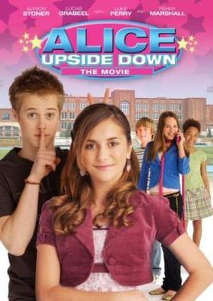 Alice Upside Down - DVD cover