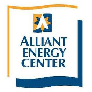 Alliant Energy Center - Image: Alliant Energy Center logo