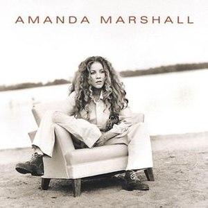 Amanda Marshall (album) - Image: Amanda Marshall cover