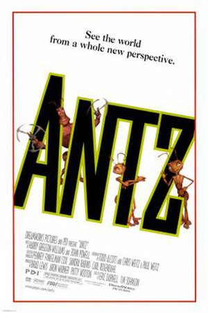 Antz - Theatrical release poster