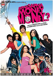 <i>Apna Sapna Money Money</i> 2006 Indian film directed by Sangeeth Sivan