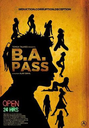 B.A. Pass - Image: B A Pass Theatrical Poster
