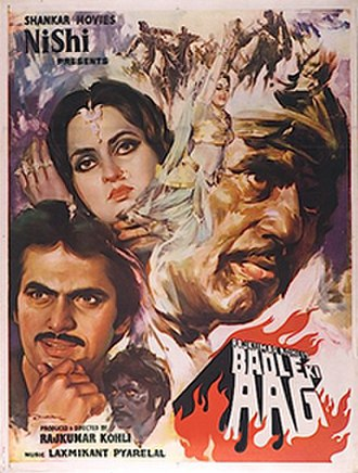 Badle Ki Aag - Theatrical release poster