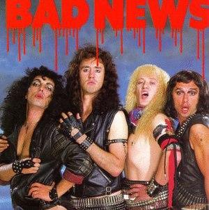 Bad News (Bad News album) - Image: Badnews 87