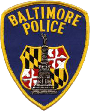 Baltimore riot of 1968 - Image: Baltimore Police Department logo patch