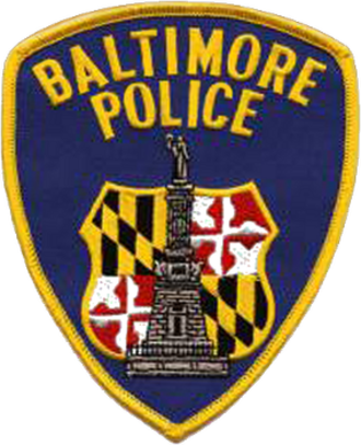 Baltimore riot of 1968 - Image: Baltimore Police Department logo patch