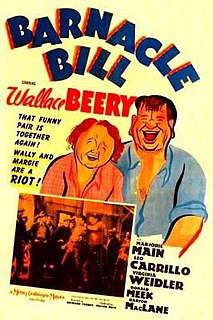 <i>Barnacle Bill</i> (1941 film) 1941 feature film directed by Richard Thorpe