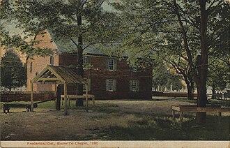 Frederica, Delaware - Barratt's Chapel, circa 1780