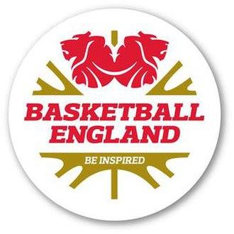 Basketball England - The Basketball England logo.