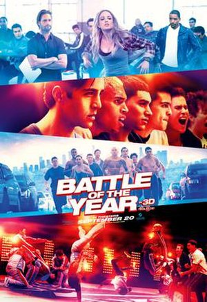 Battle of the Year (film) - Theatrical poster