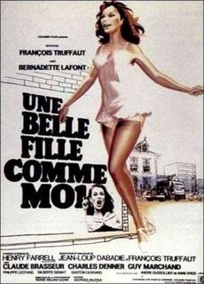 <i>Such a Gorgeous Kid Like Me</i> 1972 French film by François Truffaut