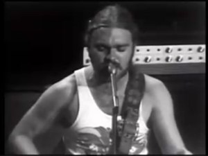 "Billy Thorpe - Thorpe performing ""Most People I Know""  on ABC-TV's GTK, 1972"