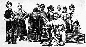 Robert Courtneidge - Courtneidge's production of The Blue Moon, 1905
