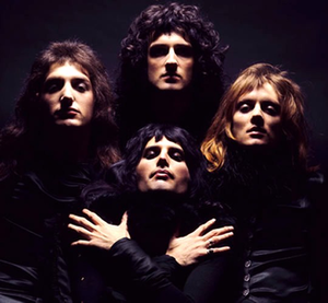 A Night at the Opera (Queen album) - Photo of Queen taken from the Bohemian Rhapsody music video