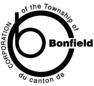 Bonfield, Ontario - Image: Bonfield logo