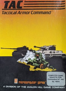 <i>TAC</i> (video game) 1983 combat videogame