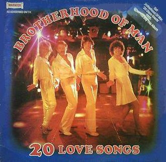 20 Disco Greats / 20 Love Songs - Image: Brotherhood Of Man 20 Love songs