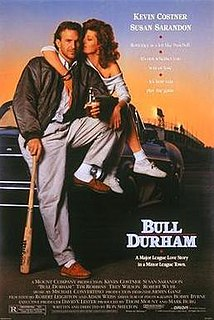 1988 romantic baseball comedy movie directed by Ron Shelton