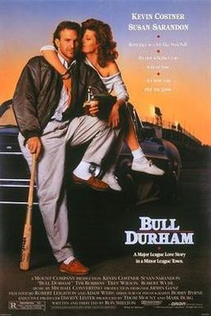 Bull Durham - Theatrical release poster