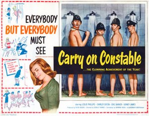Carry On Constable - Original UK quad poster