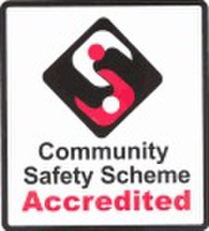 Community safety accreditation scheme - CSAS logo