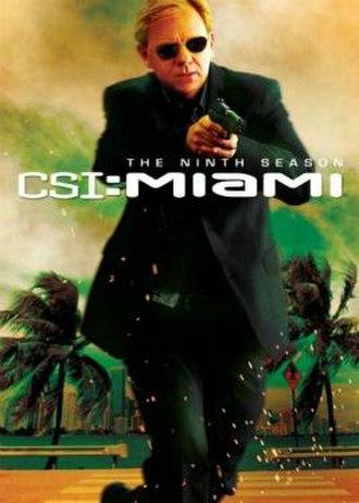 CSI: Miami (season 9) - Season 9 U.S. DVD cover