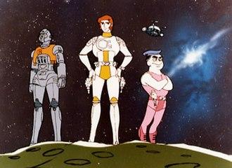 Captain Future - Image: Captain Future anime screenshot