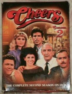 <i>Cheers</i> (season 2) season of television series