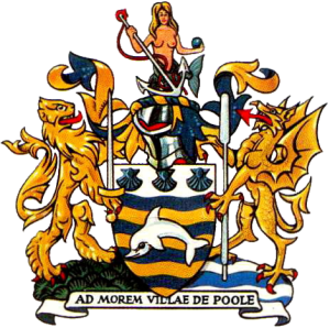 Poole Borough Council - Image: Coat of Arms Poole