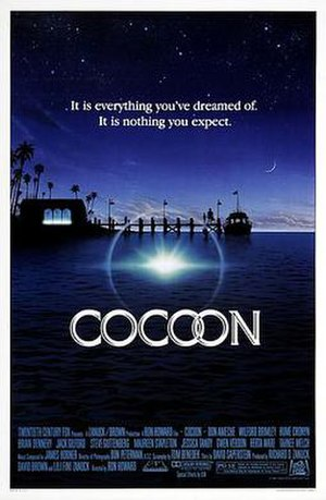 Cocoon (film) - Theatrical release poster by John Alvin