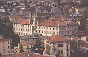 Antonianum. From its windows students could see St. Giustina.