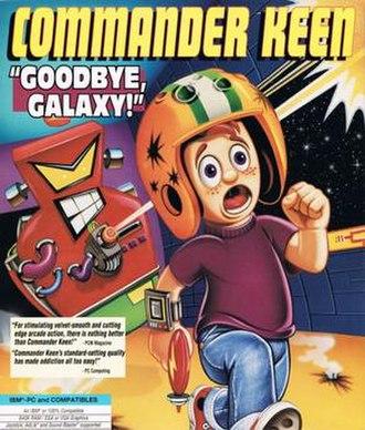 Commander Keen - Goodbye, Galaxy! cover art