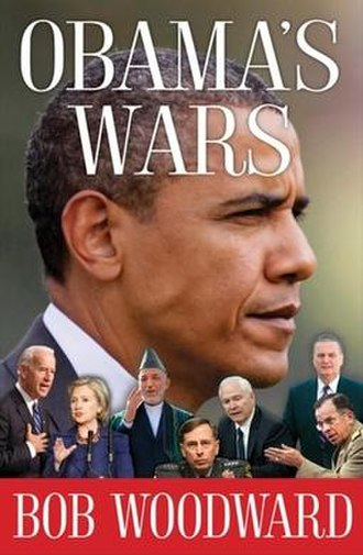 Obama's Wars - Cover of Obama's Wars by Bob Woodward