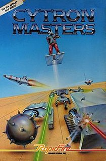 <i>Cytron Masters</i> 1982 video game