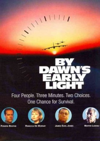 """By Dawn's Early Light - Tagline: """"Four People. Three Minutes. Two Choices. One Chance For Survival."""""""
