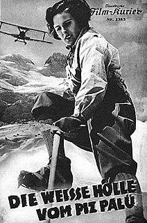 <i>The White Hell of Pitz Palu</i> (1929 film) 1929 film
