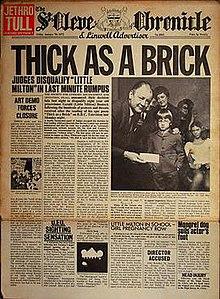 Thick as a Brick - Wikipedia