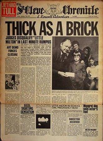 Thick as a Brick - Image: Dirkvd M thick as a brick