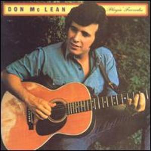 Playin' Favorites - Image: Don Mc Lean Playin' Favorites Coverart