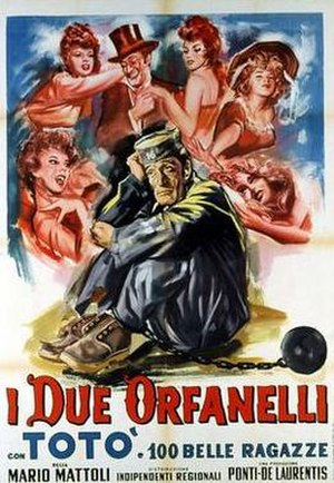 The Two Orphans (1947 film) - Film poster