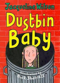 <i>Dustbin Baby</i> book by Jacqueline Wilson