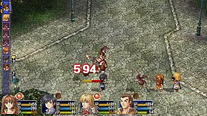 The Legend of Heroes: Trails in the Sky - Image: ED6SCbattle