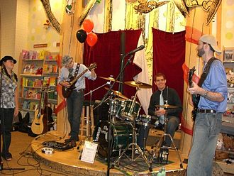 Library event planning - Small community band performs for free at a free event.