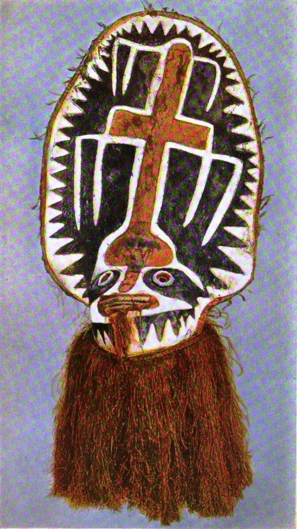 Elema dance mask from New Guinea