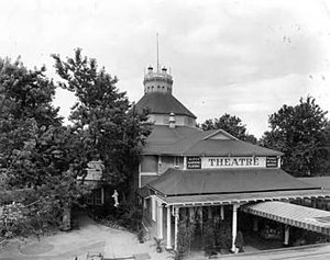Elitch Theatre - Elitch Theatre, as it appeared in 1923