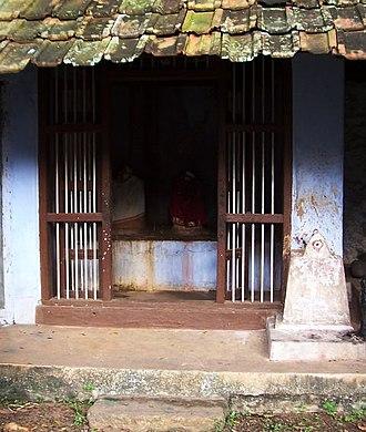 Padmanabhapuram - Image: Elur chetty padmanabhapuram madan ishakkiamman temple