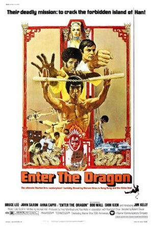 Martial arts film - 1973's Enter the Dragon, starring a charismatic Bruce Lee and distributed by Warner Bros., opened mainstream Western audiences to the previously obscure martial-arts film genre.